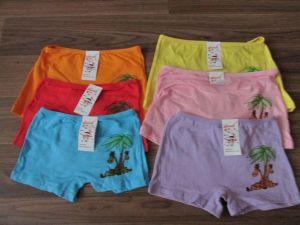 Dívčí spodní kalhotky s nohavičkou,žirafa II., vel. 6-8let
