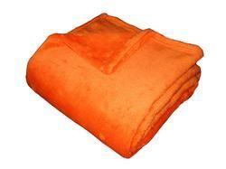 Super soft deka Dadka - oranžová, 150/200cm
