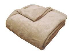 Super soft deka Dadka - světle hnědá, 150/200cm