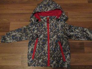 Chlapecká šusťáková bunda, vel.122/128 GOOD CHILDREN