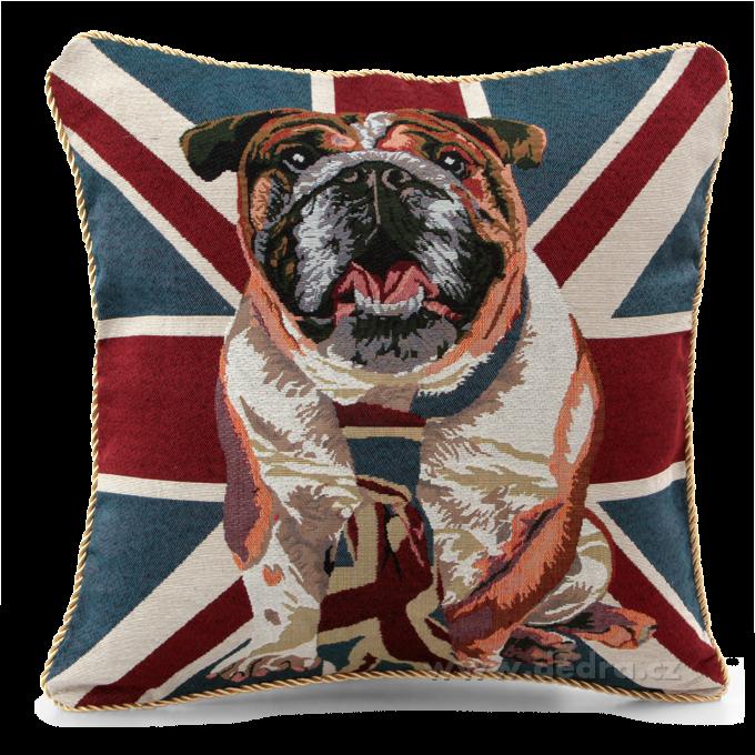 Potah na polštář GOBELINE London Dog 45 x 45 cm Dedra