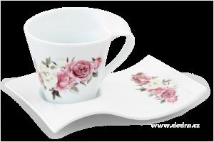 Hrnek TWIST 250ml - Romantické květy
