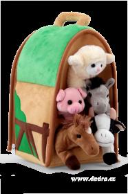 Plyšový domeček - Farma se zvířátky Dedra