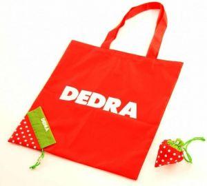 Skládací nákupní taška jahoda