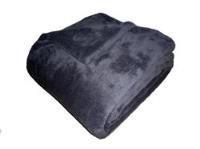 Super soft deka Dadka - tmavě šedá 150/200cm